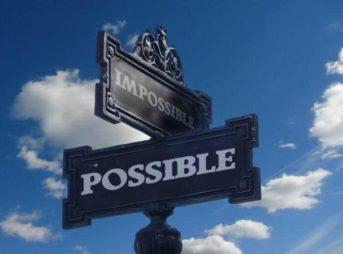 可能と不可能の標識