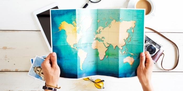 【基本知識1】90日までならば多くの国にビザなし滞在可能(通常期)